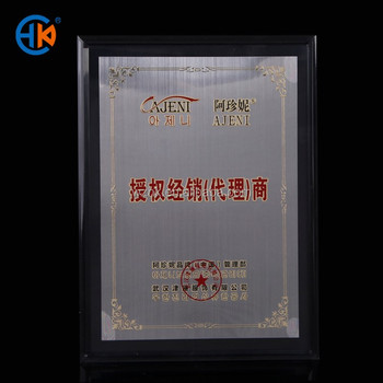 A4 Acrylic Cheap Wholesale Cardboard Certificate Frame - Buy A4 ...