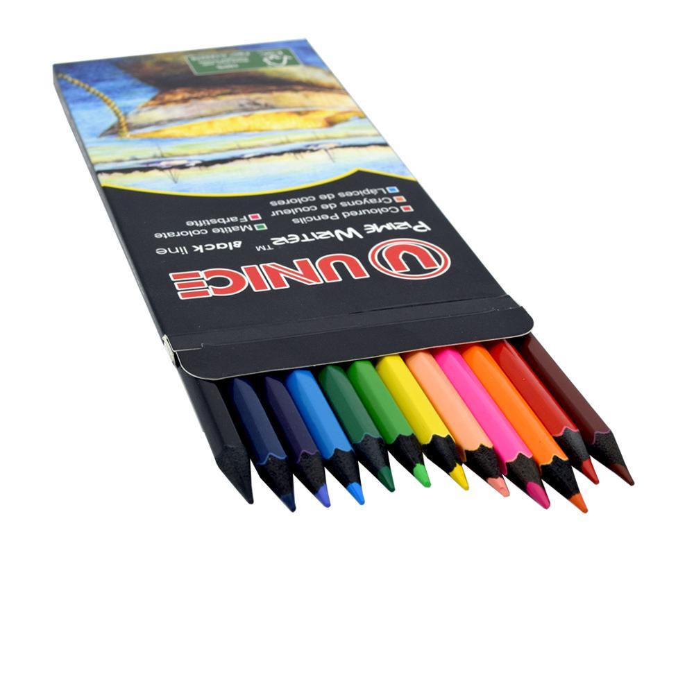 7 12 color set blackwood colored pencils super quality lead color pencils drawing