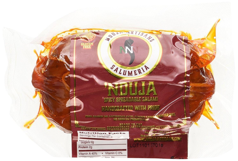NDUJA ARTISANS Spicy Spreadable Salami , 6 OZ (Pack - 3)