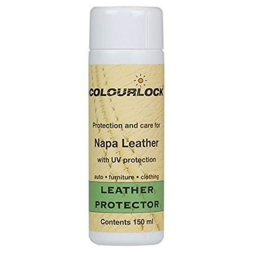 Colourlock Leather Protector feed, cream, restorer for car leather interiors, furniture, bags and clothing (150 ml)