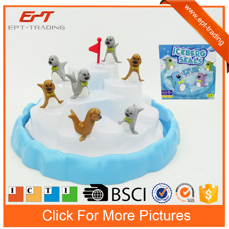 Funny intelligent toy iceberg seals chess game toy for kids