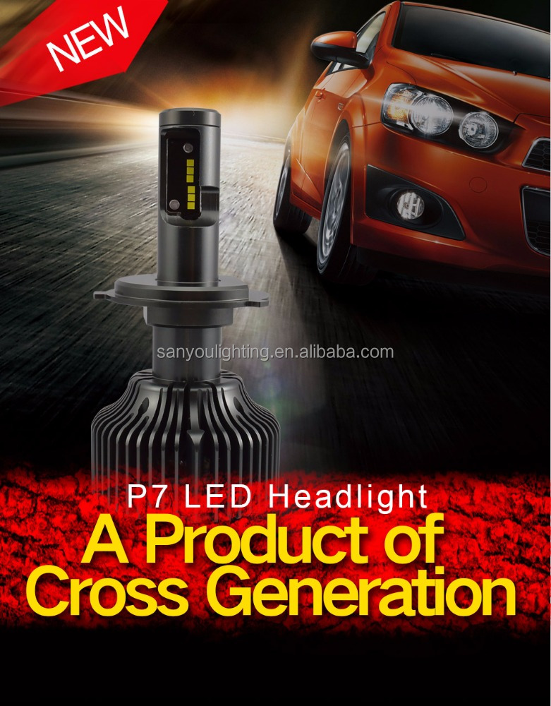 2016 New Factory Price Super bright 30W 4200LM H\L LED Headlight Headlamp Auto Conversion Car H7 H8/H9/H11 9005 9006