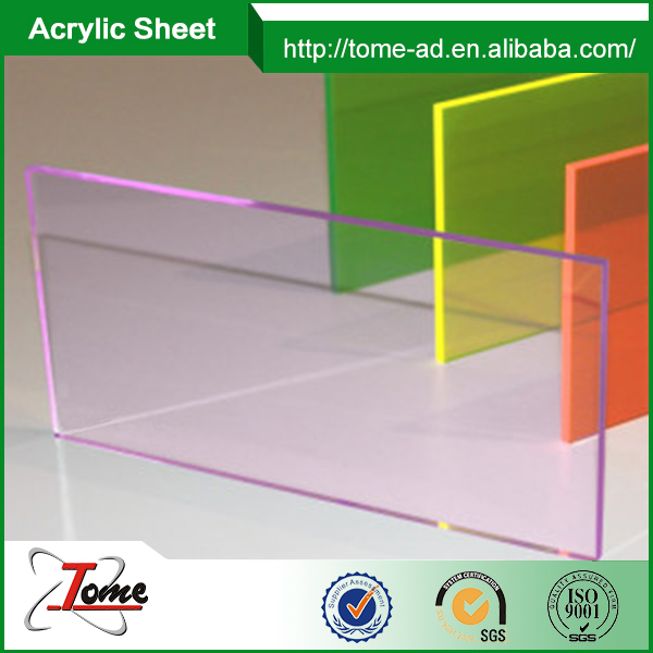 3mm transparent sheet for lightbox panel/perspex sheet