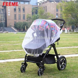 Foldable Baby Stroller Mosquito and Bug Net and crib