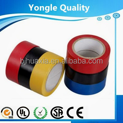Used indoor and outdoor pvc elecrical tape with good electric insulativity and no hurt to human