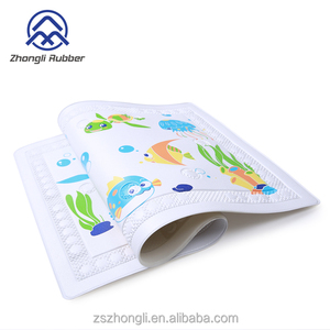 PVC Suction Bath Mat For Kids