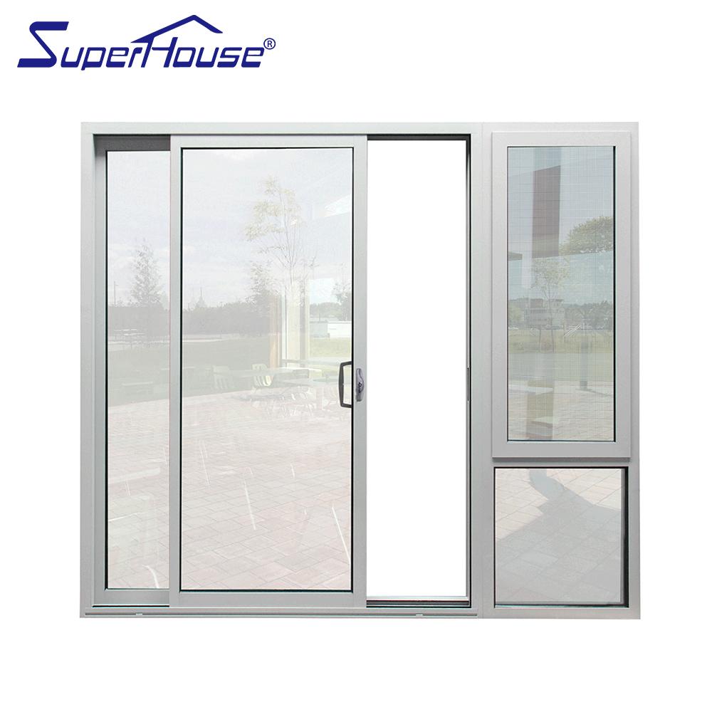 Double Gl Flush Sliding Door System