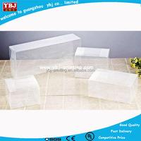 china guangzhou manufacture pvc folding box /clear plastic pvc box