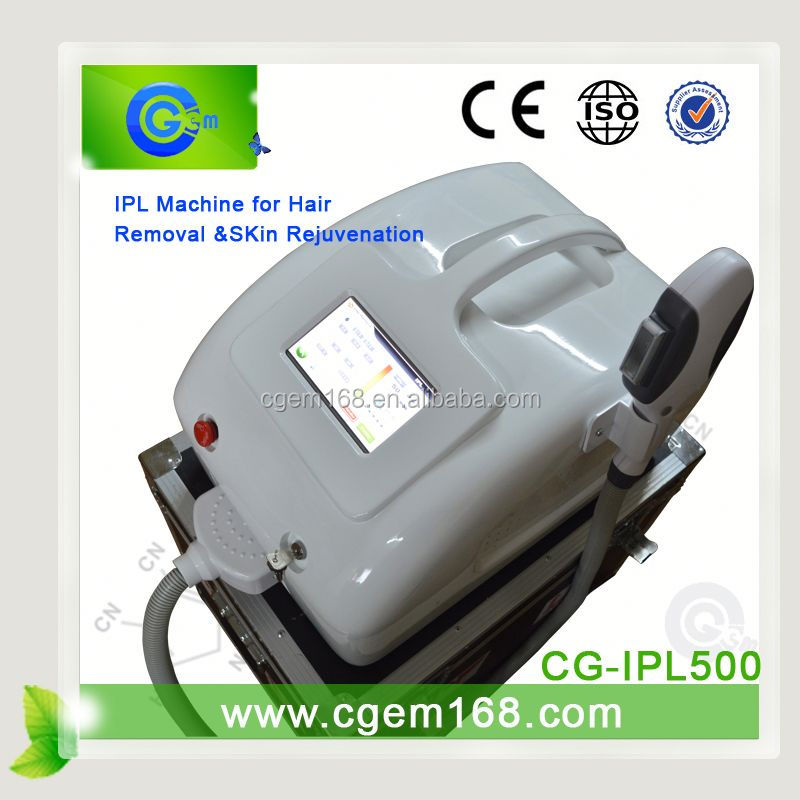 CG-IPL500 new technology ipl photo facial epilator for scar removal