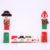 Christmas Decoration Microwave Door Handle Sets Anti-static Santa Claus Protective Cover