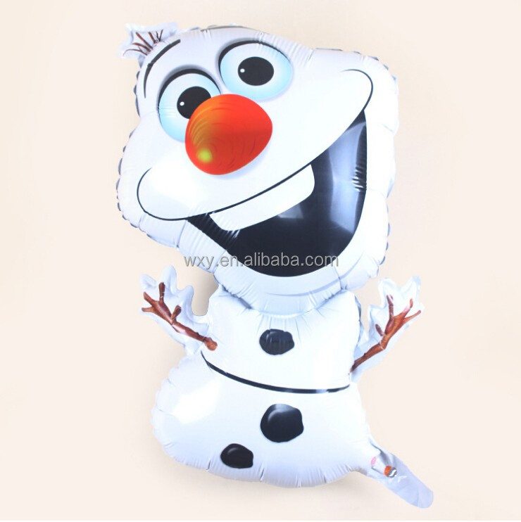 Frozen snow olaf balloon children toys foil balloon for birthday party decoration