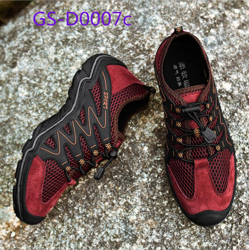 Leisure running shoes in autumn air permeability breathable men shoes GS-D0007