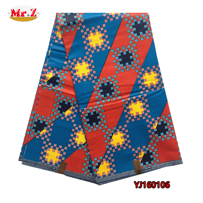 Mr.Z Low Price Nigerian 2016 Hollandis Wax Fabric