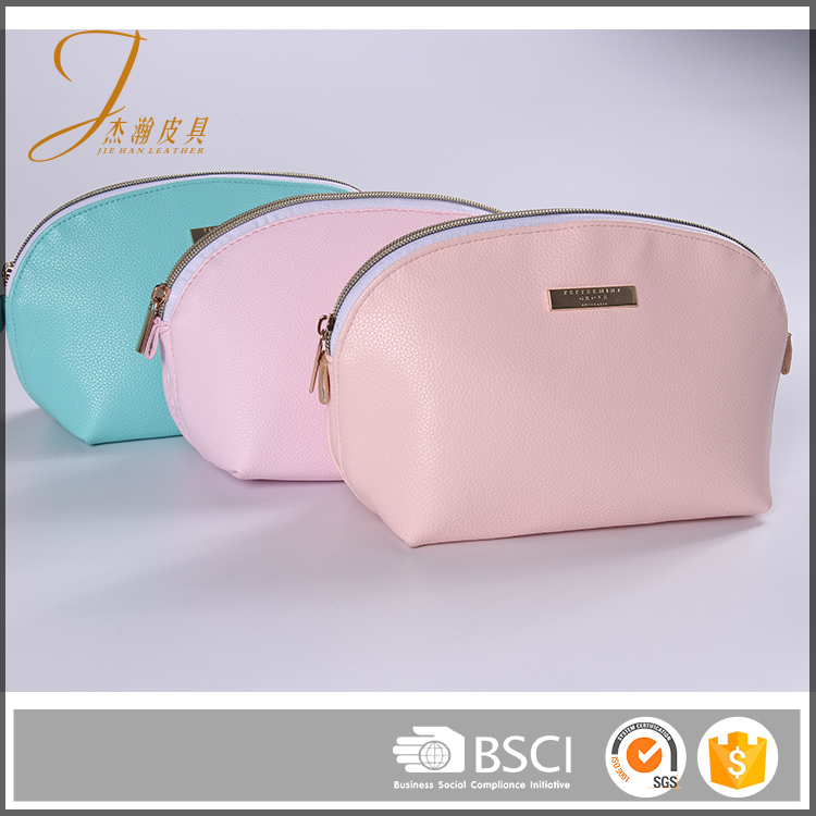 Eco recycled cheap wholesale promotion plastic zipper pvc cosmetic bag