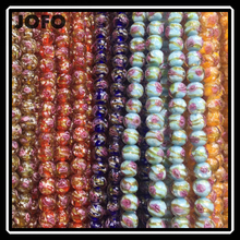 Top selling Colorful Crystal Glass Beads For Decoration Crystal Rhinestone Color Glaze Beads