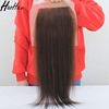 Superior quality large factory hot selling silk closures human hair