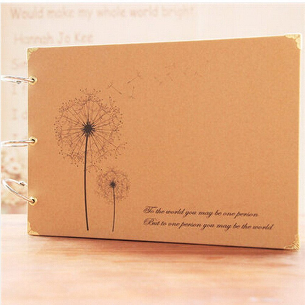 Hot Sale DIY Photo Album Scrapbook for Wedding Anniversary Memory Book