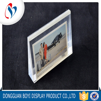 New Design Acrylic Picture Frame Wall Mount Magnetic Acrylic Frames ...