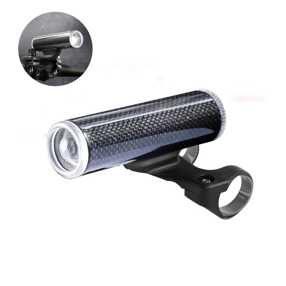 Leegoal Bike Headlight, Super Bright USB Rechargeable Bike Lights, IPX6 Waterproof LED Front Headlight for Road Cycling and Commuters, 4 Different Lighting Modes for Night Safety