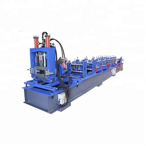 Full Automatically 11.5KW Steel z Purlin Shape Roll Forming Machine