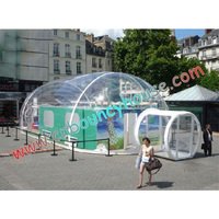 2019 hot inflatable bubble tent inflatable transparent tent for advertising