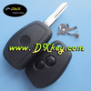 Modified 2 buttons car flip key shell for renault key renault key case