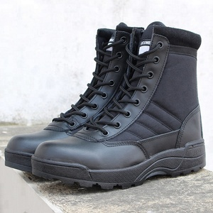 Wholesale Professional Outdoor Hunting Tactical Military Men Black Boots