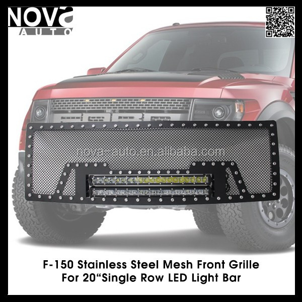 TRUCK REPLACEMENT PARTS AUTO FRONT GRILLE FOR FORD RANGER RAPTOR