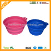 hot sell silicone folding dog or cat bowl silicone pet bowl