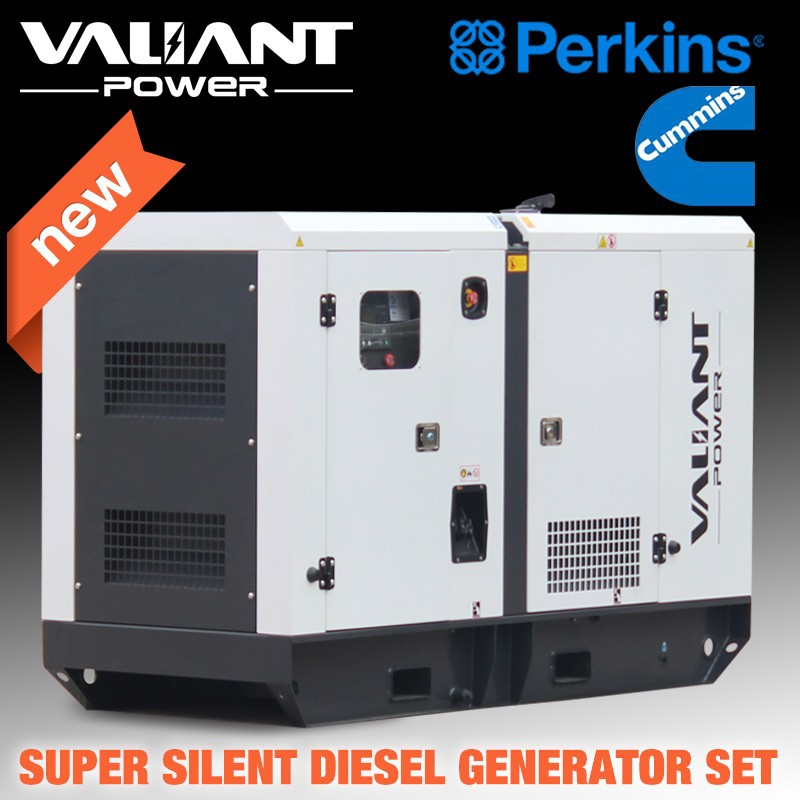 Great engine powered Global Warranty silent diesel generator