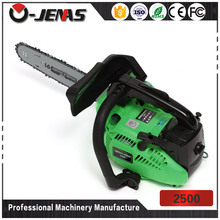 Ojenas cheap price 2500 25CC 0.8KW electric start gas chain saw