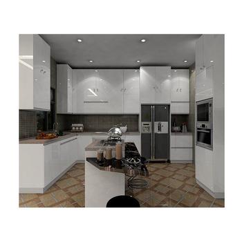 Modulare Hochglanz Weiß Lack Design Bereit Made Küche Schrank Mit China Top  Marke Scharniere - Buy Modulare Küchenschrank,Hochglanz Weiß Lackiert ...