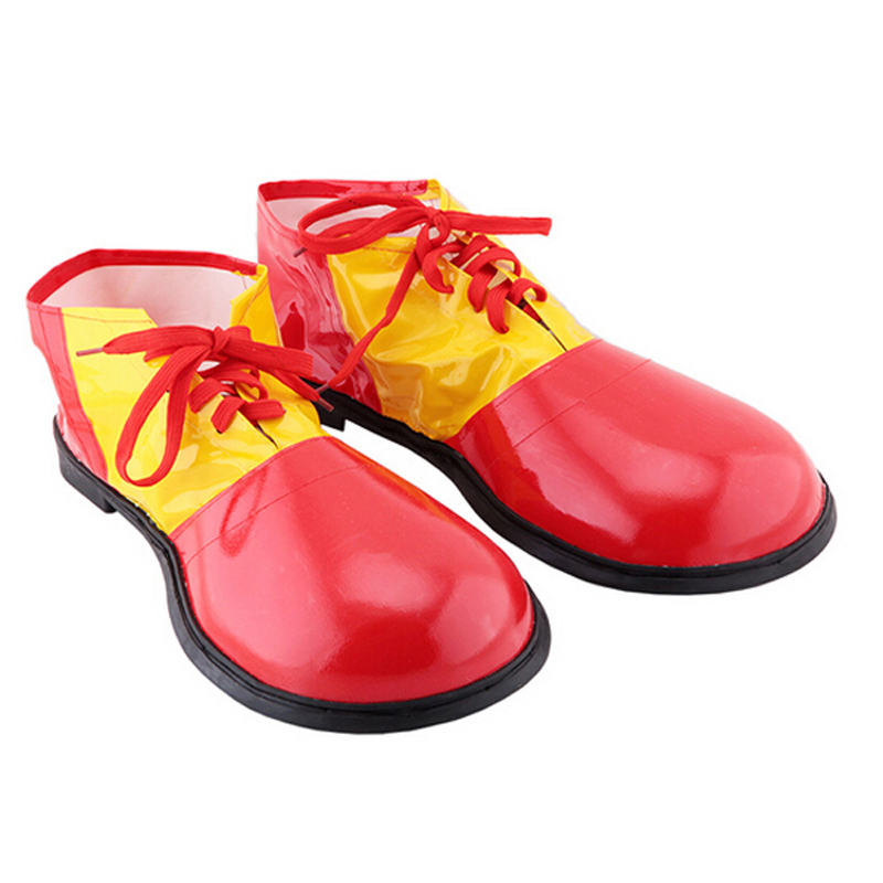 Leather Clown Shoes