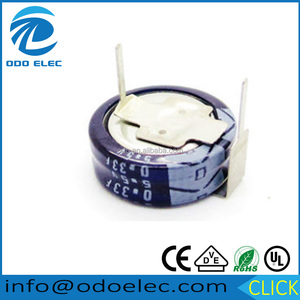 High Quality!!! Electrolytic Double Layer Capacitor 0.33f 5.5v