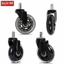 Rollerblade style 3 inch Pu caster wheel