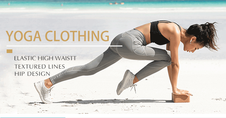 Sublimation Fitness Gym Pants High Waist Women Yoga Wear Legging