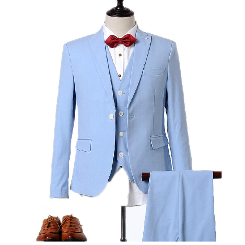 Sky Blue Pant Set