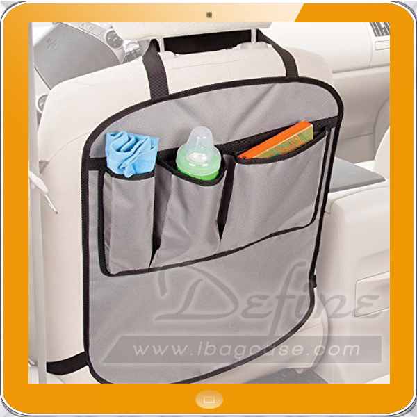 Travel Car Storage Car Seat Organizer Car Seat Back Accessories Kick Mats Seat Back Protector