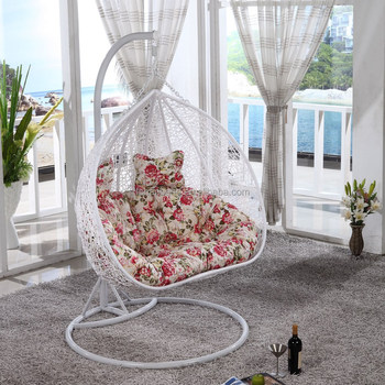 Big Round Outdoor Resin Wicker Rattan Bird Nest Chair
