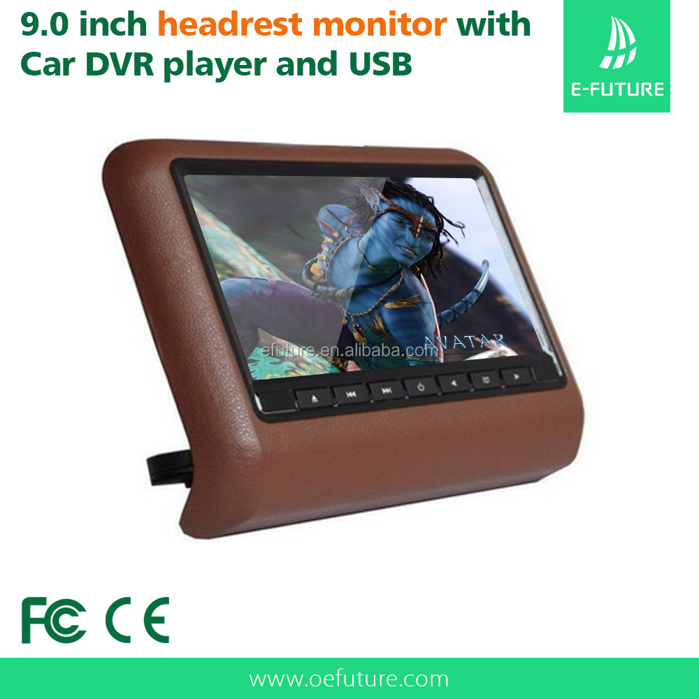 Universal <strong>car</strong> headrest bracket mounted dvd player with usb sd hdmi slot