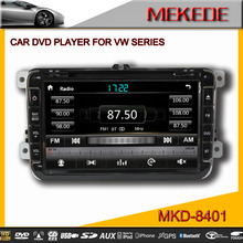 classic style MTK 8'' TFT LCD resolution Car DVD Player for VW Volkswagen passat Tiguan Touran CC Eos Caddy R36 Golf 5 Golf 6
