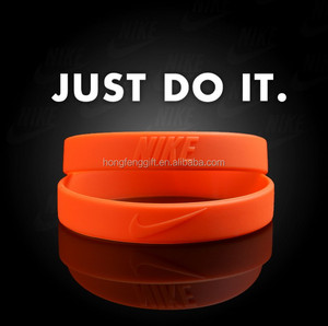 Hot Sell High Quality Free Silicone Wristbands/Custom Silicon Wristband For Nike