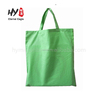 Lady shopping pure white cotton canvas tote bag
