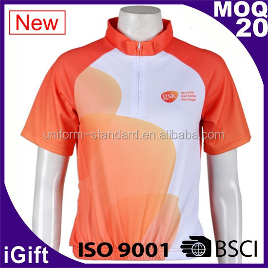 FAMA factory 100% Polyester Brushed Cycling Jersey