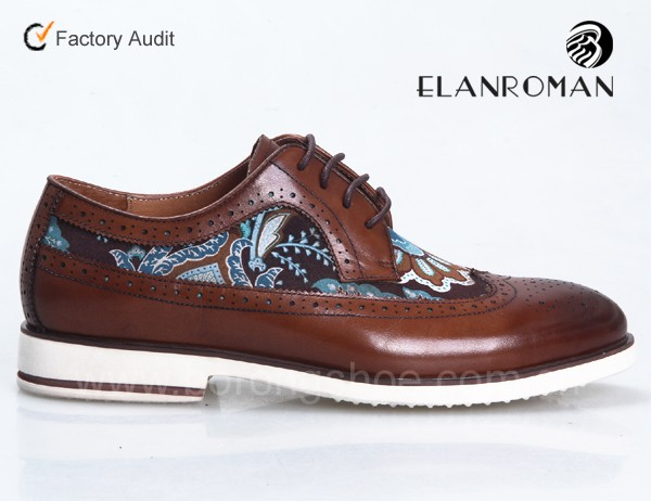 Guangzhou formal for style Brogue shoes china wingtip shoes men leather in 7q6xz