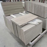Chinese Athens Wood Vein Marble Athens Gray Wood Grain Marble Tile