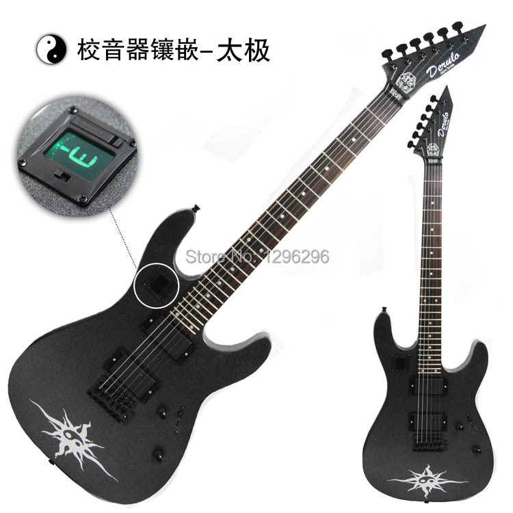 free shipping introduction to drl thunder sword electric guitar 24 items both pickup single wave. Black Bedroom Furniture Sets. Home Design Ideas