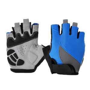 New Custom cycling gloves Mountain Bike Road Racing bicycle gloves half finger for man