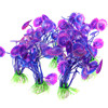 Aquarium Decorations Aquatic Accessories Ornament Decor Artificial Plastic Plants