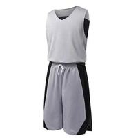 Wholesale Custom Blank Basketball Uniforms Jersey Reversible Best Grade Quality Material